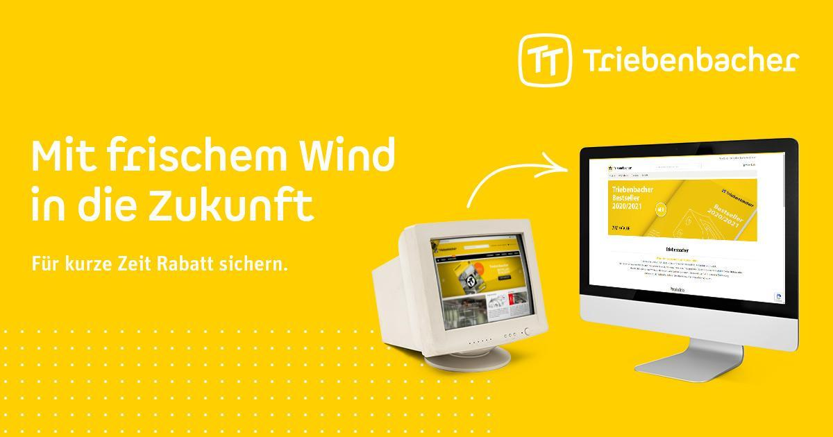 Neues Design und neuer Onlineshop für Triebenbacher