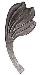 Zierblatt re. 65x155mm Art Deco