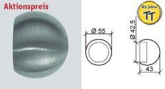 VA-Rohrabschlusskugel für Rohr 42,4 mm