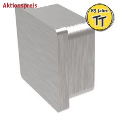 VA-Endkappe für Quadratrohr 40x40 x 2mm