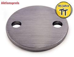 VA-Anschraubplatte d=80mm,2x11mm