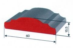 Handlauf 50x14 -3000 mm