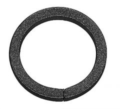 Zierring d=100mm,12x12mm,glatt