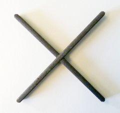 Zierkreuz 110x110mm,12x 5mm,glatt