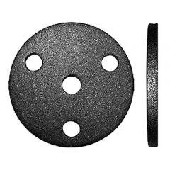 Anschraubplatte d=64mm-Mat.4mm