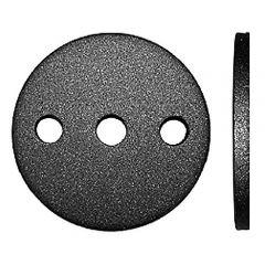 Anschraubplatte d=80mm-Mat.6mm