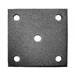 Anschraubplatte 100x100mm-Mat.6mm