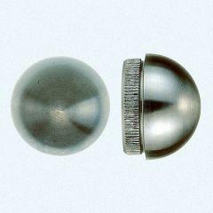 VA-Endkappe rund für Rohr 33,7 x 2 mm
