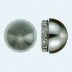VA-Endkappe rund für Rohr 42,4 x 2 mm