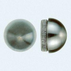 VA-Endkappe rund für Rohr 48,3 x 2 mm