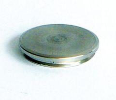 VA-Endkappe flach für Rohr 42,4 x 2 mm