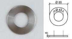 VA-Abdeckrosette d=85mm, h=8mm
