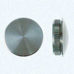 VA-Endkappe oval für Rohr 60,3 x 2 mm