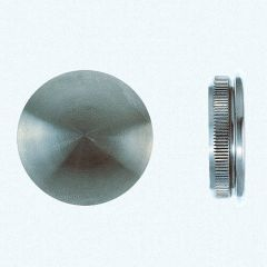VA-Endkappe flach für Rohr 60,3 x 2 mm