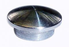 VA-Endkappe oval für Rohr 12 x 1,5 mm