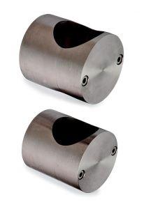 Pfosten -Befestigungsset 60 mm. 2 t