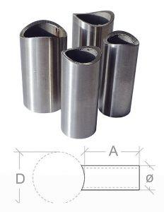 VA-Distanzhuelse l=100mm, f. 42,4mm