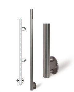 VA-Pfosten 42,4x3mm,2 Fließgew. re.