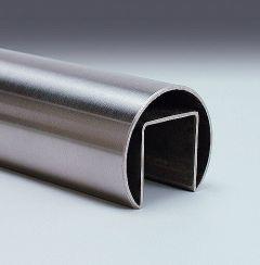 V2A-Glasleistenrohr 42,4x1,5-3000mm