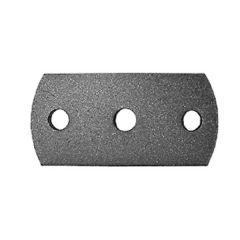 Anschraubplatte 80x120mm-Mat.8mm