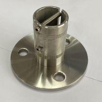 VA-Wand-Bodenanker d=100mm, Mat.6mm