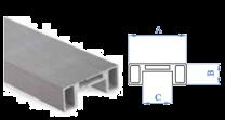 Evolution-Profil Nut 24x24mm, 6 m / 48x20mm