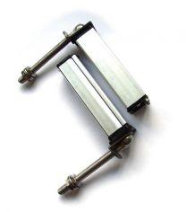1 Paar Türschliesser M12 mit Feder