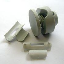 4 St. Kunststoff-Punkthalter d=50mm