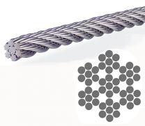 25m Litzenseil flexibel 6mm 04197