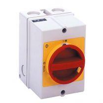 Hauptschalter IP65, 4-polig 5026