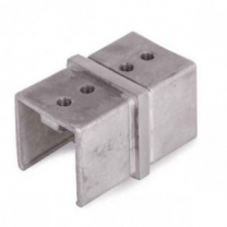 Rohrverbinder V4A, 40x40x1,5mm