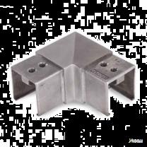 Rohrverbinder 90Grad V4A, 40x40x1,5