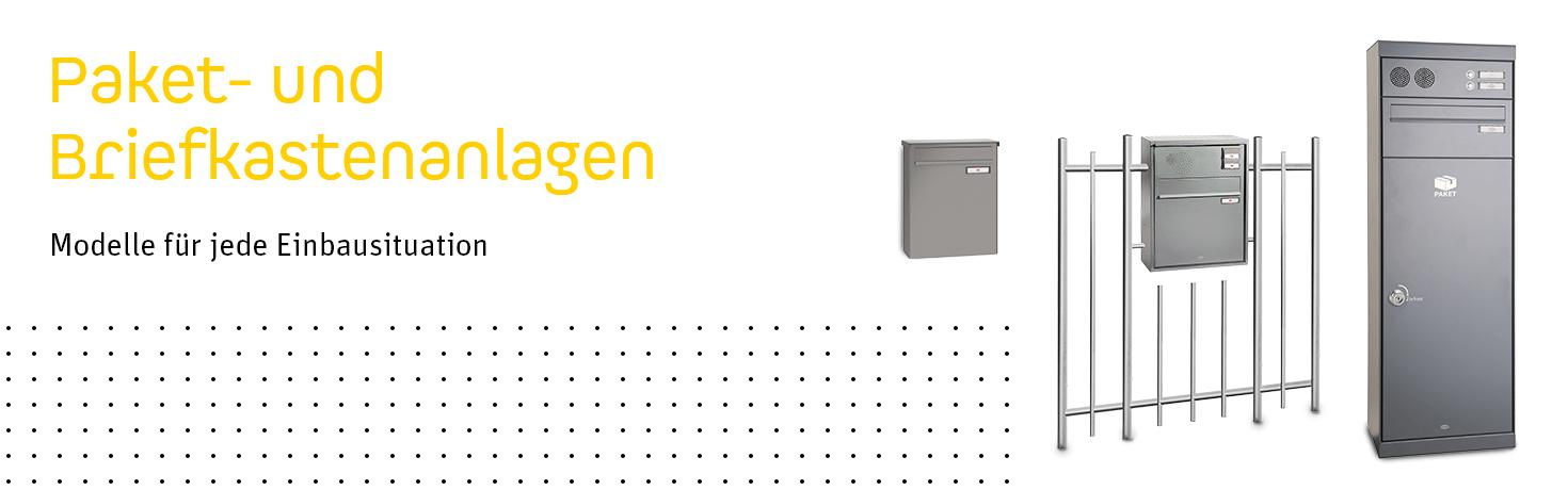 Brief- und Paketkastenanlagen von Triebenbacher